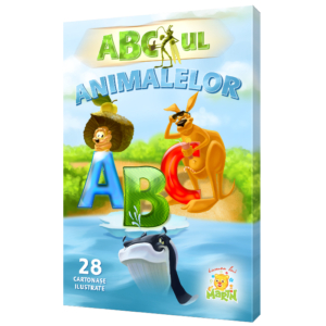 ABC-ul Animalelor Cartonase Educative